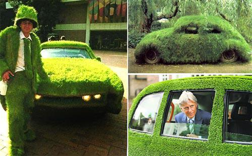 Симпатичные авто в силе GreenPeace.
