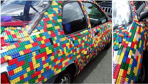 Автомобиль в стиле Lego