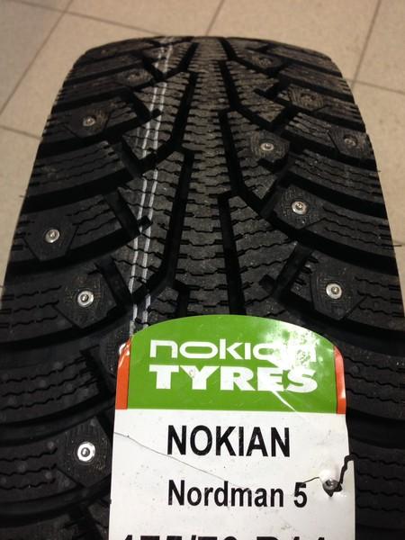 Зимние шины Nokian Nordman 5