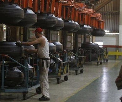 Завод по производству покрышек bridgestone в Бразилии