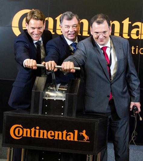 Continental открыл завод в Калуге