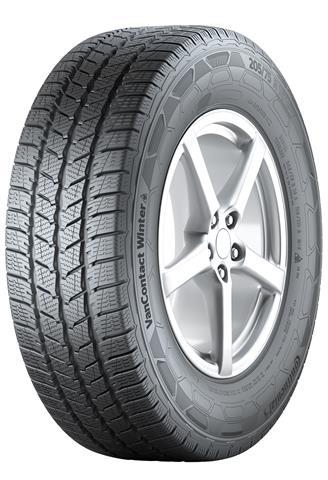 Новые зимние шины Continental VanContact Winter для коммерческих автомобилей, вэнов