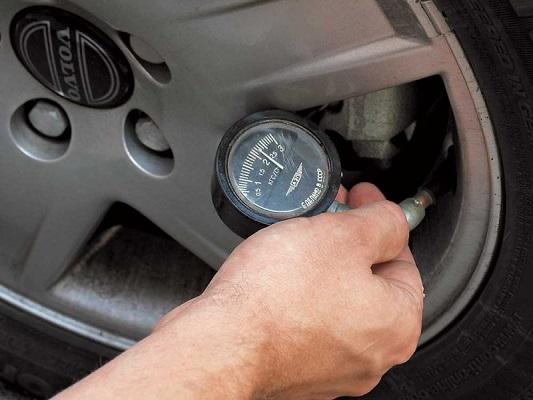 Советы по давлению в шинах