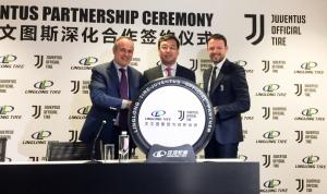 LingLong подписано соглашение  с ФК Ювентус