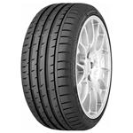 Летние шины :  Continental ContiSportContact 3 245/40 R17 91W FX