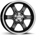 PCD болтов диска 6x139,7 мм Dotz Crunch 8x17/6x139,7 ET20 D106.1 Black