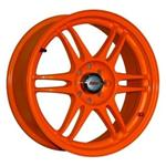 PCD болтов диска 4x100 Kosei K1-TS Version 7x17/4x100 ET36 Orange