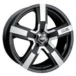 PCD болтов диска 5x115 мм OZ Racing Versilia 8x18/5x115 D70.2 ET45 Black