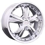 PCD болтов диска 4x100 Racing Wheels H-302 7x16/4x100 D73.1 ET40 Chrome