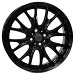 PCD болтов диска 4x100 Replica W1653 7x17/4x100 D56.1 ET48 Black