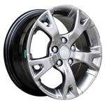 PCD болтов диска 5x100 TGRACING LZ046 6x14/5x100 D57.1 ET38 Black