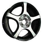 PCD болтов диска 5x100 TGRACING LZ200 6x14/5x100 D67.1 ET38 Black