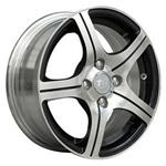 PCD болтов диска 5x100 TGRACING LZ213 5.5x14/5x100 D57.1 ET37 Black