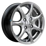 PCD болтов диска 5x100 TGRACING TGD001 6.5x15/5x100 D57.1 ET38 Black